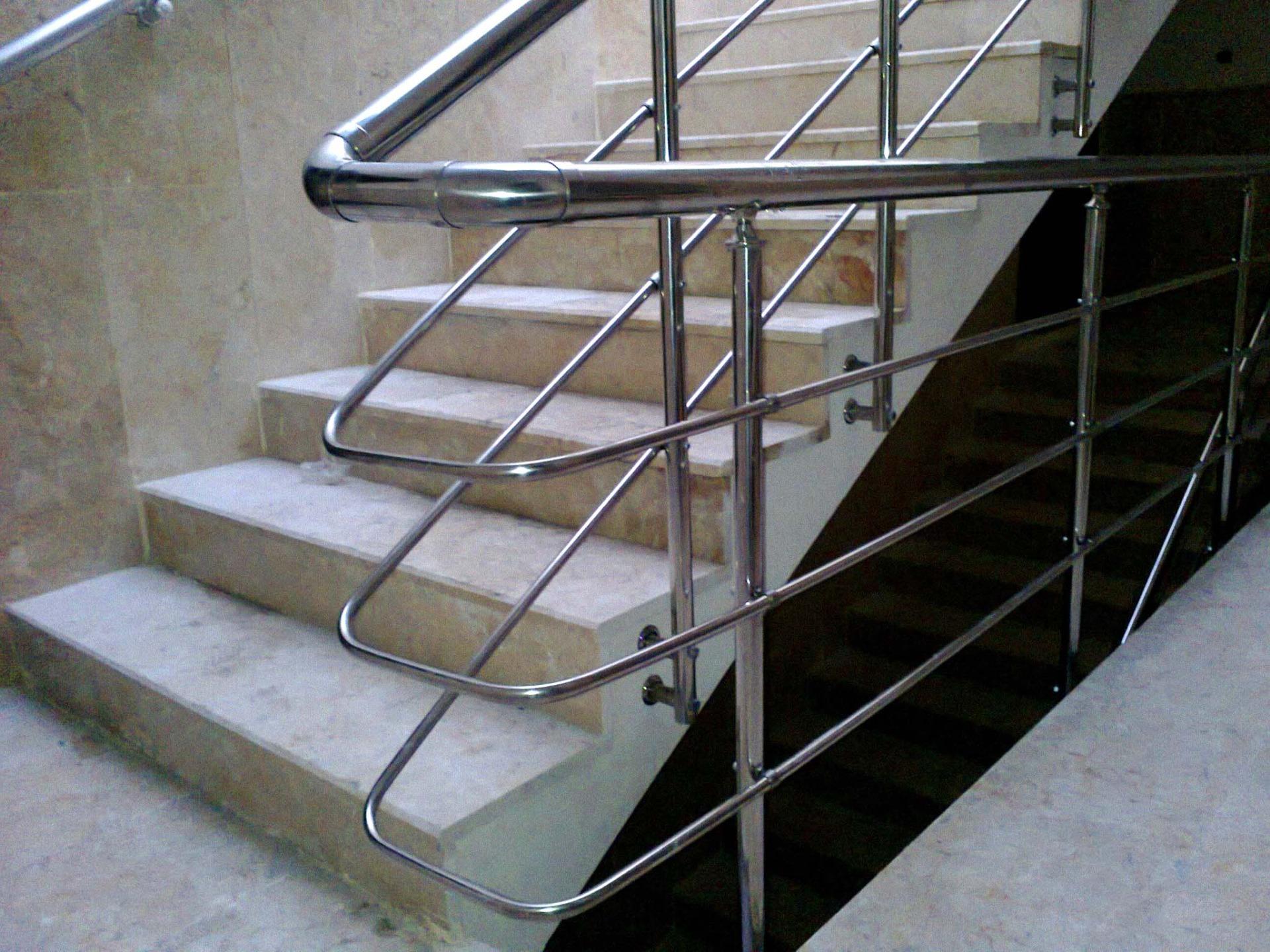 Лестничные ограждения в дизайне