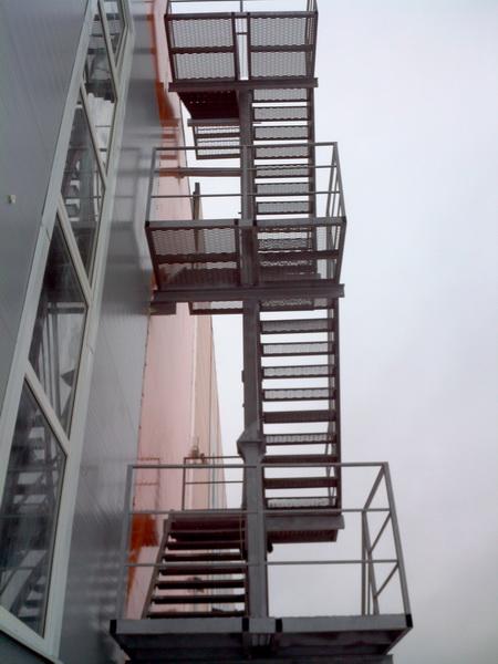 Эвакуационная лестница