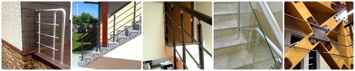 Перила для лестниц спб