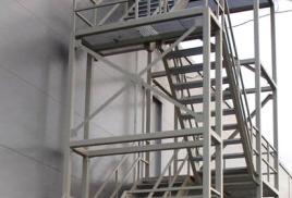 Отличия эвакуационной лестницы от пожарной